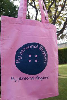 Bolsa de tela rosa de My personal kingdom