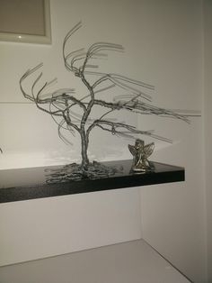 The first wire bonsai