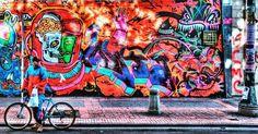 #graffiti en #bogota. #urbanart #arteurbano #graffitiart #sprayart #photodeiby