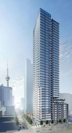 Rising to new heights in the heart of Toronto's Entertainment District! Toronto Condo, Downtown Toronto, Condo Floor Plans, Adelaide Street, Building Concept, New Condo, Higher Design, Condos For Sale, Condominium