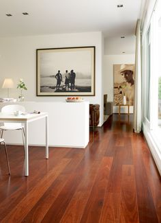 Sensational Jarrah HD Laminate - This Beautiful High Definition Laminate Flooring is from Belgium and available now in Australia at www.fowles.com.au