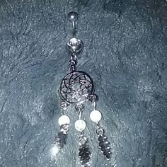 New belly ring New dream catcher belly ring. Never worn. Jewelry