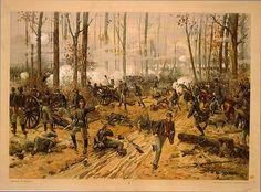 Batalla de Shiloh. Más en www.elgrancapitan.org/foro
