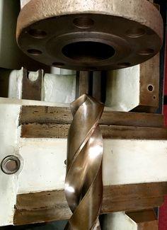 Drill, baby drill. Monarch drill press on display at the Mare Island Museum . Vallejo, California Zippertravel.com Digital Edition