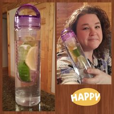 Shanon won this infusion water bottle for $0.31 using 13 voucher bids! #QuiBidsWin