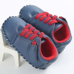408105bb12d PU Leather Baby First Walkers Fashion Soft Soles Non-slip Baby Crib Shoes  Brand Toddler Boys Sneakers Newborn Infant Girls Shoes
