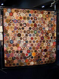Hexagon Stars | Flickr - Photo Sharing!  Kim Maclean 2002. Just beautiful