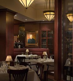 The Capital Grille...Kansas City, Missouri - I've never been here, but would love to try it.