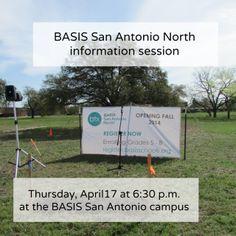 BASIS San Antonio North info session April 17   San Antonio Charter Moms