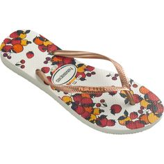 e6a4b2f51 Havaianas Slim Fruits (€20) ❤ liked on Polyvore featuring shoes