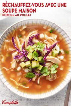 Healthy Meal Prep, Healthy Eating, Healthy Recipes, Curry Recipes, Healthy Food, Pozole, Posole Recipe Chicken, Chicken Recipes, Campbells Recipes