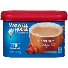 Maxwell House International Cafe Flavored Instant Coffee, Café Vienna, 9 Ounce Canister: Inspired by some of your favorite international coffee drinks, these flavored coffee drink mixes make it easy to take a moment for yourself. Coffee Creamer Brands, Non Dairy Coffee Creamer, Coffee Creamer Recipe, Gourmet Food Store, Gourmet Recipes, Orange Cafe, Maxwell House Coffee, International Coffee, Cafe House