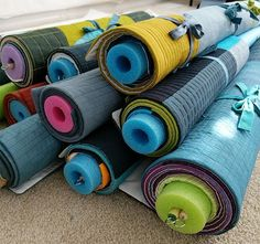 Pool Noodles Are a Big Help in the Sewing Room - Quilting Digest