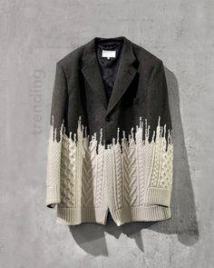 Knit Fashion, Fashion Art, Womens Fashion, Fashion Design, Fashion Trends, Trend Board, Looks Style, My Style, Creation Couture