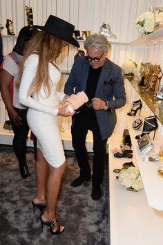 Beyonce Knowles Photos - Giuseppe Zanotti Beverly Hills Store Opening - Zimbio