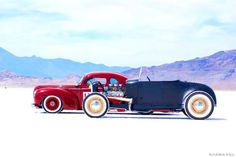 Bonneville salt flats. Always wanted to go here. its on the bucket list.