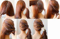 Las mejores fotos de peinados que son rapidos y faciles para todas las mujeres que buscamos lo simple pero que quede bonito nuestro cabello