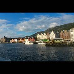 """""""Hello Bergen  #travel #adventure #norway #sognefjorden #fjord #hello #bergen #hanzahouses #hanza #beautifulbuildings"""""""