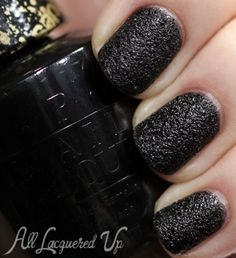 OPI Mariah Carey Holiday 2013 Liquid Sand Swatches and Review - Shade: Emotions