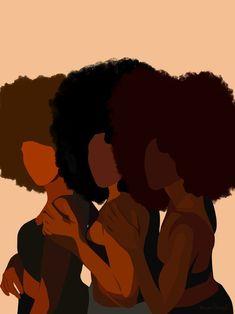 Modern woman wall art Digital Download Black Art PNG | Etsy