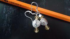 Sunrise Silver Earrings