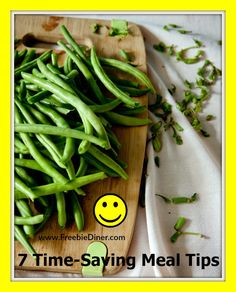 Try these 7 time-saving meal tips to cut down on daily meal planning and preparation. Free up that time for your family or just to relax at the end of the day.