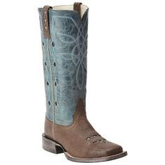 Ariat Women's Ranch Luxe Western Boot, just one of the great products from our large selection here at HorseLoverZ. Classically designed women's performance boot with