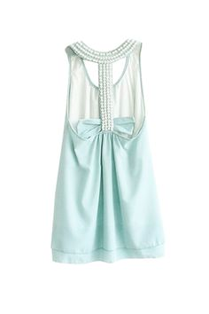 Pretty Pearl Racer Back Dress
