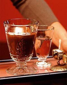 Rezept: Sambucaschokolade