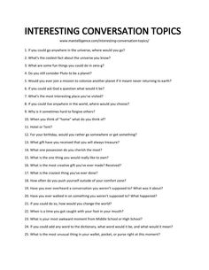 Use these 98 interesting conversation topics and questions to ask to ignite fun conversations. The only list of conversation topic you'll need. Questions To Ask People, Questions To Get To Know Someone, Getting To Know Someone, Funny Questions, Fast Talk Questions, Interesting Questions To Ask, This Or That Questions, Either Or Questions, Truth Or Dare Questions