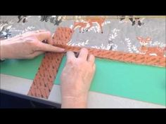 (23) How to Join Your Quilt Binding Ends - YouTube
