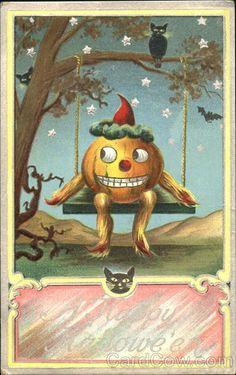 A Happy Halloween JOL on Swing