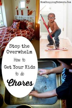 Great tips on how to get your kids to do chores without being overwhelmed, glad I found this! Kids chores | Kids to do chores | Chores for kids | Chores for Kids ideas | Chores for Kids Tips | Overwhelmed | Overwhelmed Kids | Overwhelmed Tips | Efficientl