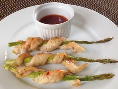 Sweet & Spicy Snakes in the Grass - Asian inspired entree or appetizer is easy and fun to make.