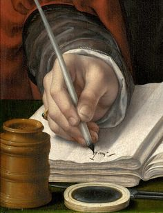 Portrait of a Merchant (detail), Jan Gossart, ca. 1530