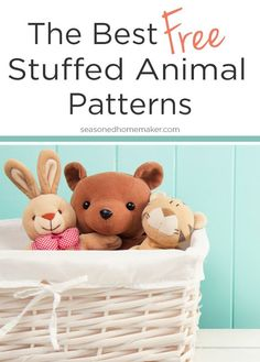 stuffed animal templates free.html