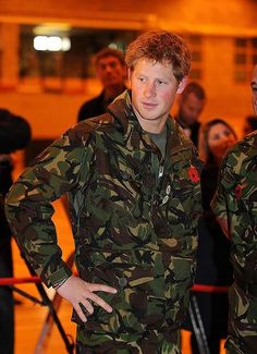 Prince Harry ... Helicopter pilot : )