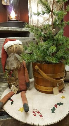 Primitive Christmas, Teddy Bear, Toys, Animals, Activity Toys, Animales, Animaux, Clearance Toys, Prim Christmas
