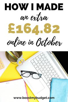 I make money online! Click through to my income report to find out which apps, websites and strategies I use to make some extra money, and how you can do it too!