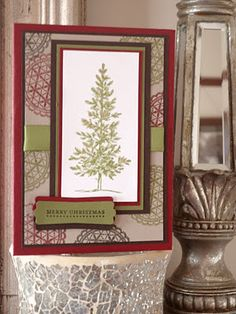The Speckled Sparrow: Stampin' Up! Delicate Doilies & Lovely As A Tree C...