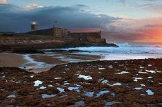 Fort in Carcavelos Beach