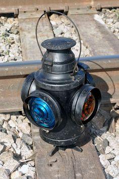MOPAC Railroad Switch Lamp