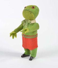 Schuco, Tanzfigur Frosch : Lot 5020