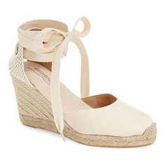 3cbfb8336bfe Soludos Wedge Lace-Up Espadrille - white lace up espadrilles
