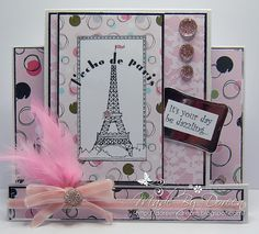 Doreens Dream featuring Frou Frou from Crafters Companion Cards, Frou Frou, Sorting, Punch, Birthday Cards, Card Ideas, Greeting Cards, Frame, Crafts