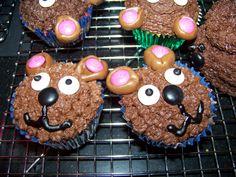 Teddy Bear Picnic Birthday Party (cupcakes)
