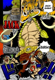 JACK THE DROUGHT - One Piece Chapter 810 by RickMarques on DeviantArt