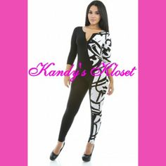 """Show off your the true fashionista in you with this super jumper! Super chic and fun they featuring an overall cursive """"spray paint"""" print. Model is wearing a small"""