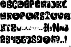 Alphabet Psychédélique 18 best psychedelic lettering images on pinterest | typography