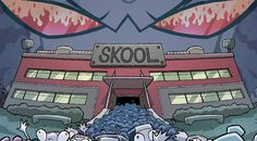 It's time to go to Skool in Oni Press' Invader Zim Best of Skool, released Tuesday, November 9!Invader Zim Best of Skoolby Eric Trueheart, Aaron Alexovich, Warren Wucinich (Illustrator), K.C. Green (Illustrator), Kate Sherron (Illustrator)A brand new collection featuring four of our favorite stories from the Oni Press comic Invader ZIM highlighting Skool – a place where young, impressionable, human minds are molded into... eh, we're not sure what happens after that. But now you can relive a
